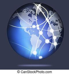 水晶, 地球全球