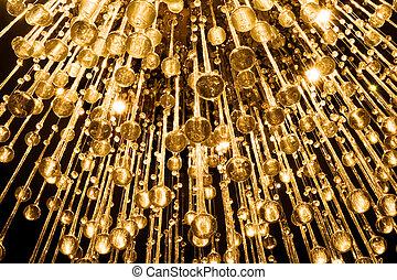 水晶, 枝形吊燈