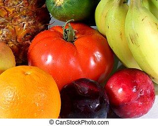 水果, 以及, veg#3