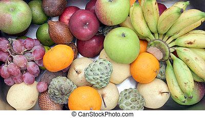 水果, 高的角度