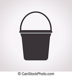 水桶, 图标