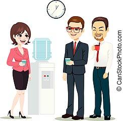 水機械, businesspeople