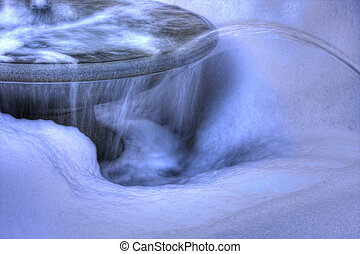 水泉源, 在中, hdr