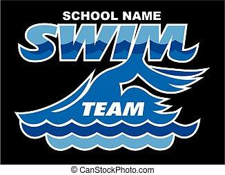 水泳, チーム