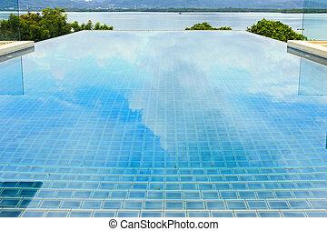 水泳, 別荘, プール, 贅沢
