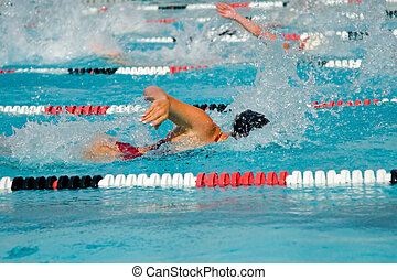 水泳, 最終