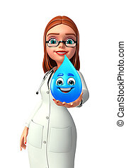 水滴, 若い医者