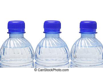 水瓶子, 矿物, 塑料