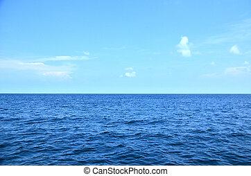 水, さざ波を起こされた