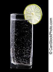 水 ガラス, 光っていること, ライム