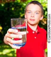水 ガラス, 子供