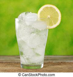 水 ガラス, 立方体, 氷
