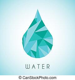 水, デザイン