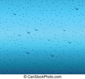 水, 下降, 背景