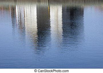 水, 反射