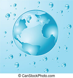 水, 地球