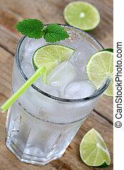 水, 寒い, 立方体, 氷, 飲みなさい