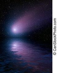 水, 彗星