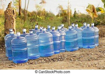 水, 新鮮, 提供