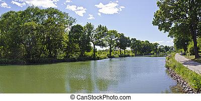 水 方法, goeta, 運河