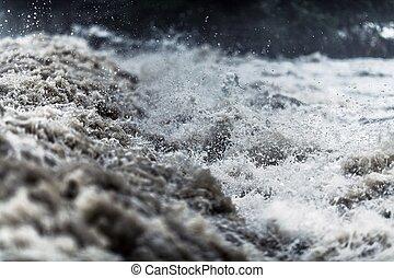 水, 洪水, フラッシュ
