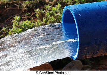 水 源, 潅漑
