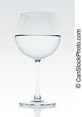 水, 由于, 酒杯