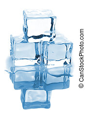 水, 立方体, 3, 氷