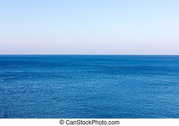 水, 青, 冷静, 海
