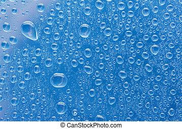 水, bubbles., 抽象的, 背景