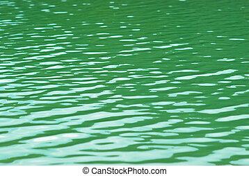水, surface.