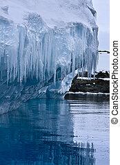 氷山, 南極である