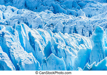 氷河, アルゼンチン, perito, moreno, 細部
