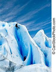氷河, 上昇, patagonia.