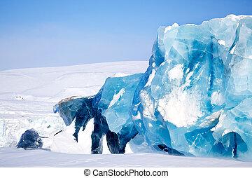 氷河, 細部