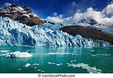 氷河, spegazzini, アルゼンチン