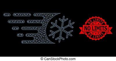 氷結, 速い, 限界, ネットワーク, いいえ, 切手, 網, ゴム