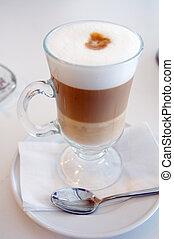 氷, コーヒー, 冷たい飲み物