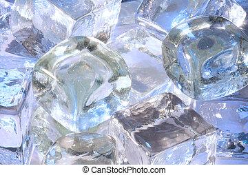 氷, 涼しい