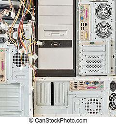 汚い, 古い, コンピュータ, ∥ために∥, 電子, リサイクル