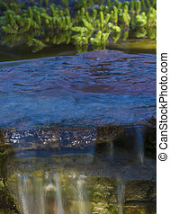 池, 滝, 美化
