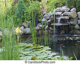 池, 装飾用