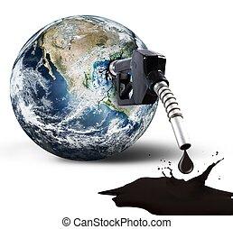 污染, 在中, 世界