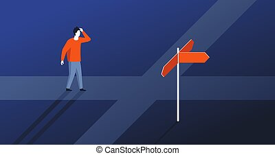 決定, 選択, 方向, 作成, 権利