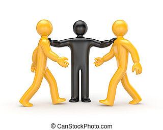 決定, intermediary, 衝突