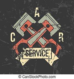 汽車服務, 象征