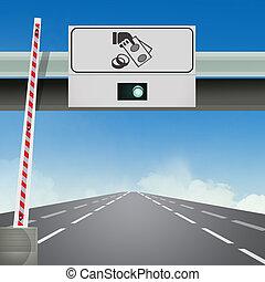 汽車高速公路, 出口