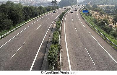 汽車高速公路