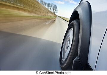 汽車, 在運動中
