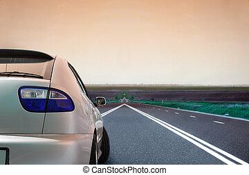 汽車, 在道路上